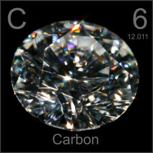 Diamond Carbon Element