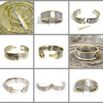 Making a hinged wedding ring.