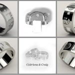 Symbols Of Life Wedding Ring