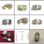 Different Types Of Ogham Wedding Rings