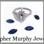 Making a diamond & sapphire engagement ring