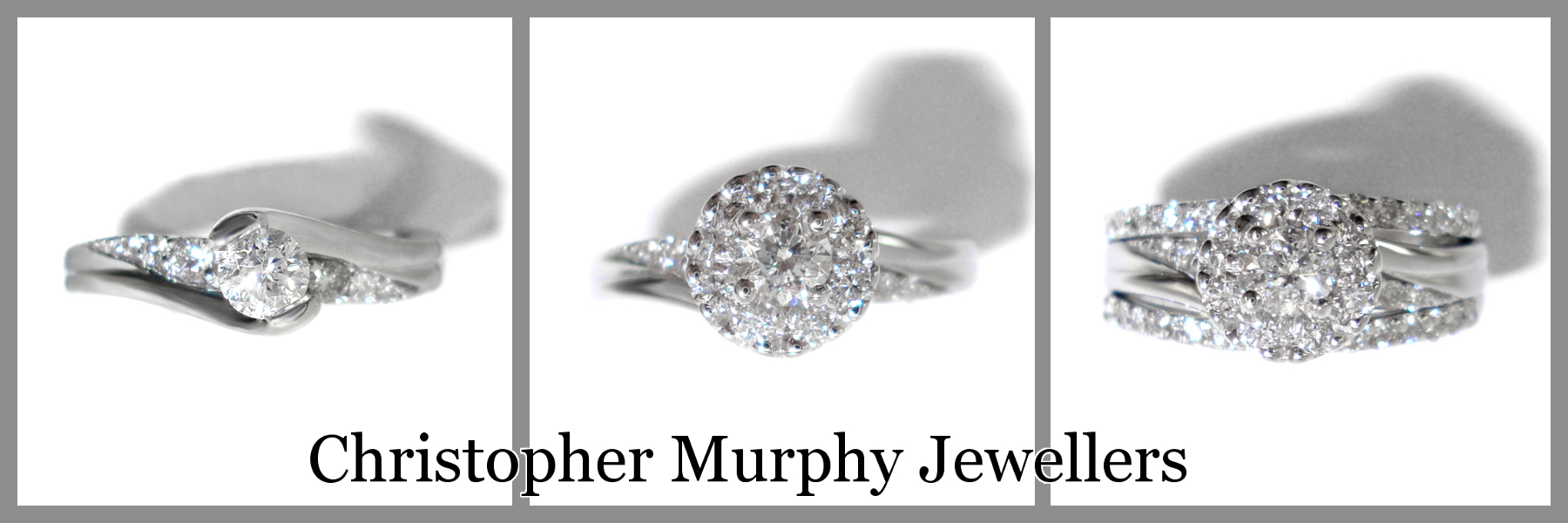 customers wow wedding into double your up made murphy halo eternity rings a christopher was and ring the jewellers full functional