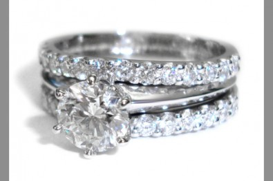 Double wedding rings christopher murphy jewellers read more junglespirit Images